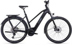 Cube Kathmandu Hybrid Exc 750 Trapeze Electric Bike Black/Silver 2022