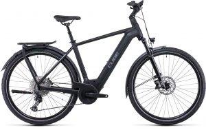 Cube Kathmandu Hybrid Exc 750 Electric Bike Black/Silver 2022